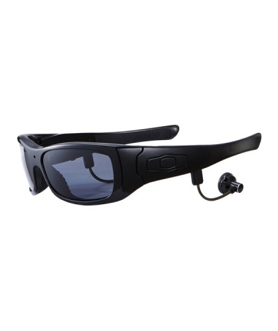 Wireless Fashionable Video Recording with  Smart Music Player and Camera Sun Glasses