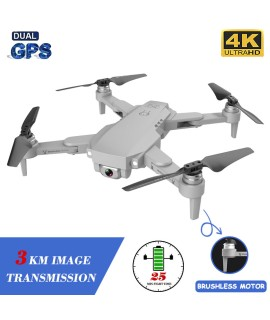 XKJ Gps Drone LU1 PRO With HD 4K Camera Professional 3000m Image Transmission Brushless Foldable Quadcopter RC Dron Kids Gift|RC Quadcopter|   - Coolcncn