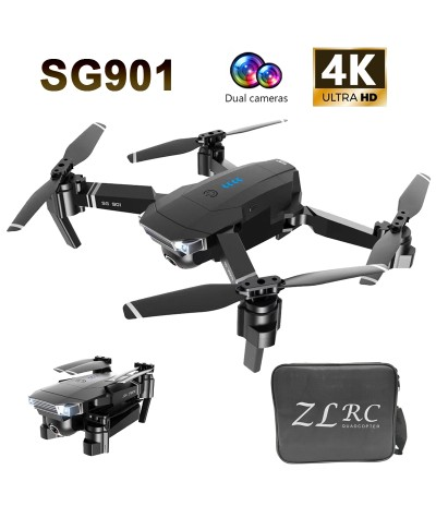 2020 new SG901 drone 1080P 4K high definition dual camera, follow me, quadrotor FPV RC drone professional battery long life| |   - Coolcncn