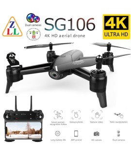 ZLL new SG106 RC Drone 4K 1080P high definition dual camera, optical flow positioning WiFi FPV battery long life, four axis UAV| |   - Coolcncn