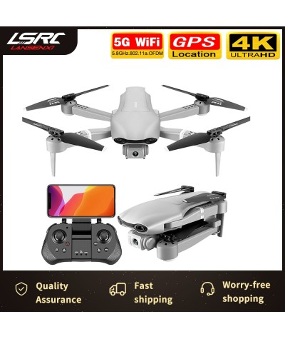 2020 new GPS drone 4K 5G WiFi real time video FPV quad rotor flight 25 minutes rc distance 500m drone HD wide angle dual camera RC Helicopters    - Coolcncn
