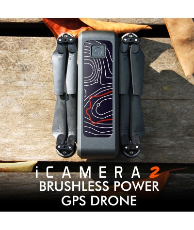 XKJ Gps Drone iCAMERA2 With Wifi FPV HD 4K Camera Professional Brushless Foldable Quadcopter  RC Dron For Kids Gift|RC Quadcopter|   - Coolcncn