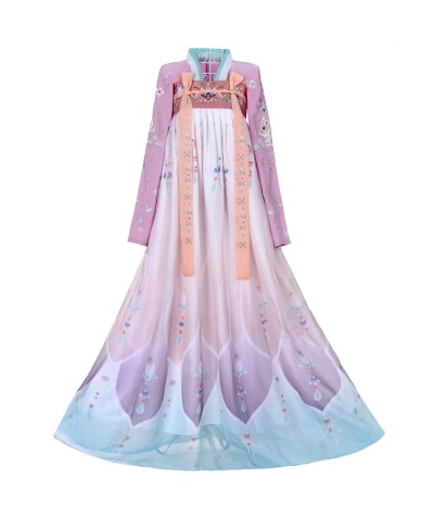 Ancient Female Han Dynasty Princess Dance Clothing Embroidery Girl Traditional Vintage Hanfu Dress Festival Outfits Performance      - Coolcncn