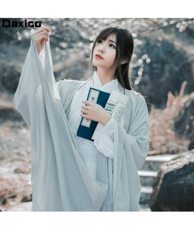 Women Traditional Hanfu Dress Stage Performance Lady Chinese Folk Dance Costume  Oriental Tang Dynasty Outfit Prince Dance Wear| |   - Coolcncn