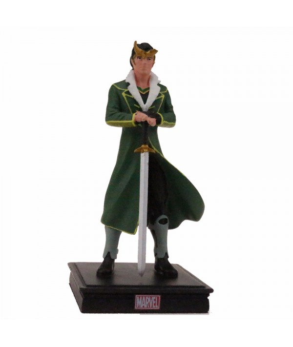 12CM Resin Crafts Loki Models Action Figure Marvel Collection Resin Craftwork Toys Gift for Sale with Package