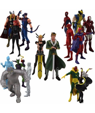 12CM Resin Crafts Magik Models Action Figure Marvel Collection Resin Craftwork Toys Gift for Sale with Package