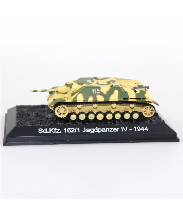 Diecast Military Model Tank Toys 1/72 Scale Panzer IV/70 Sd Kfz 162/1 Die cast Army Tank Models for Collection Gift