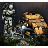 [tuskmodel] 90MM  resin model kit ROBOT|resin model kits|model kitresin model - Coolcncn