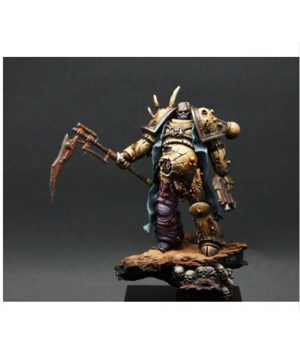 1/24 75mm fantasy Defiler figure 75MM with base    toy Resin Model Miniature Kit Unassembly Unpainted|Model Building Kits|   - Coolcncn