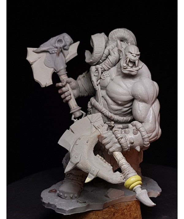 [tusk model]75mm Scale Unassembled Resin figures resin model Kits S75006|Model Building Kits|   - Coolcncn
