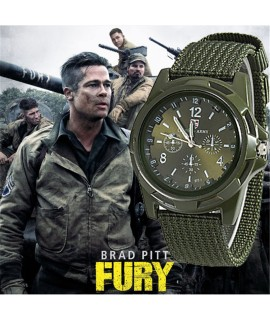 2018 Men Nylon band Military watch Gemius Army watch High Quality Quartz Movement Men sports watch Casual wristwatches-in Quartz Watches from Watches on Coolcncn.com |