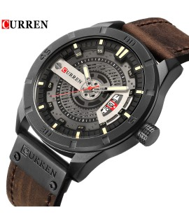 2018 Luxury Brand CURREN Men Military Sports Watches Men's Quartz Date Clock Man Casual Leather Wrist Watch Relogio Masculino-in Quartz Watches from Watches on Coolcncn.com |