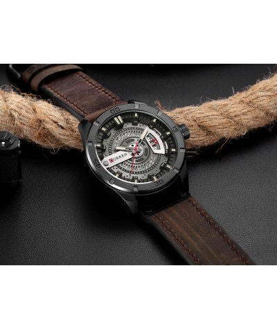 2018 Luxury Brand CURREN Men Military Sports Watches Men's Quartz Date Clock Man Casual Leather Wrist Watch Relogio Masculino-in Quartz Watches from Watches on Coolcncn.com  